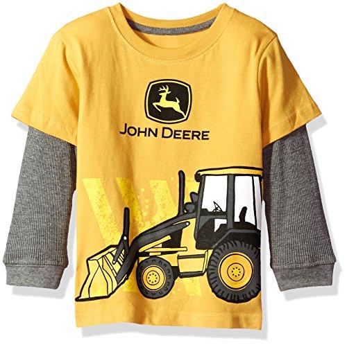 509678c03 Tees – John Deere Baby Boys' 2 for Tee-Yellow, 4T Offers