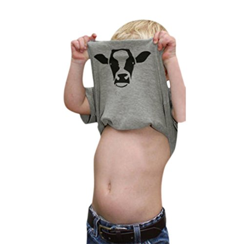 45475fa5a08 Currently you happen to be studying one of my publish with regards to  Little Girls Boys Summer Clothes Cow Inside Letter Soft Tops Cute T-Shirt  ...