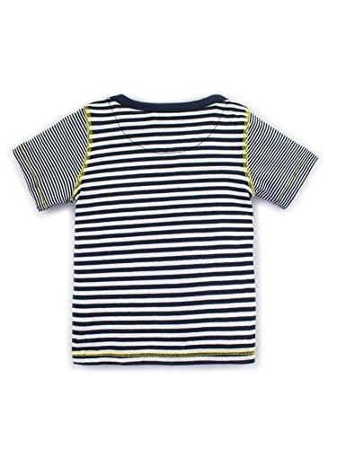 Zutano Chocolate 5 Color Stripe Long Sleeve T-Shirt