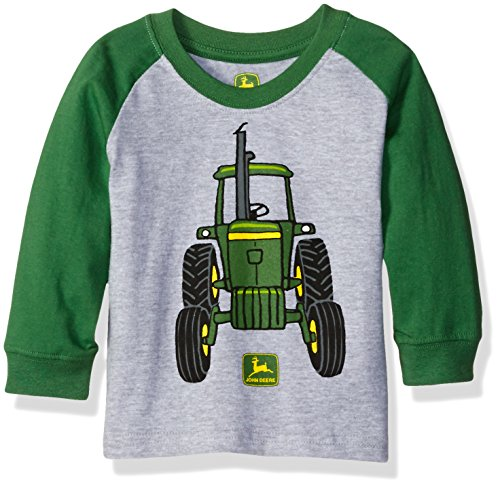 JOHN DEERE Baby Boys 2T 18 or 24 Month Short Sleeve Camo Shirt NWT Tractor Time